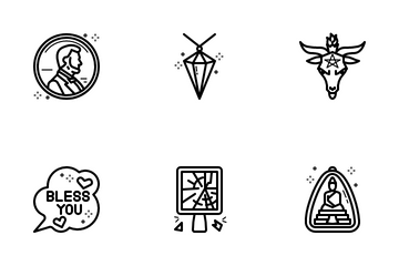 Superstitious Beliefs Icon Pack