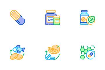 Supplements Icon Pack