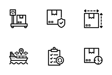 Supply Chain Icon Pack
