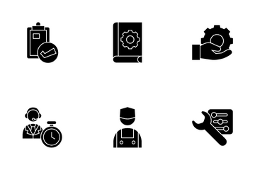 Support Service Icon Pack