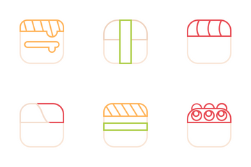 Sushi Icon Pack