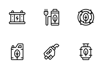 Sustainable Energy Icon Pack