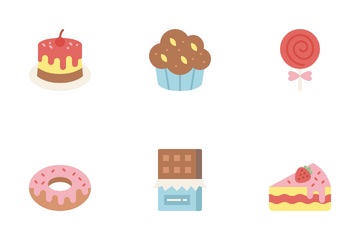Sweet And Dessert Icon Pack