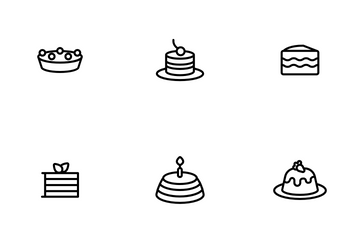 Sweet Cheesecakes Icon Pack