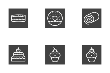 Sweets & Confectionery Icon Pack