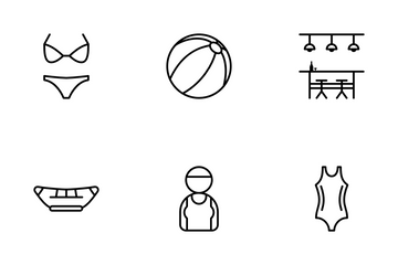 Swimming Icon Pack