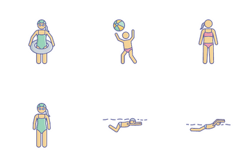Swimming Pack Icon Pack