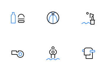 Swimming Pool Icon Pack