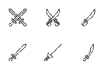 Sword Icon Pack