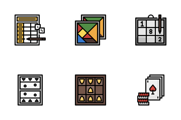 Table Games Icon Pack