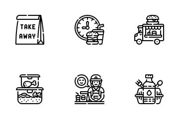 Take Away Icon Pack