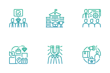 Talent Management Icon Pack