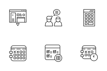 Task And Project Management Icon Pack