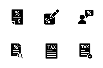 Taxation Icon Pack
