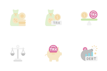 Taxes Icon Pack