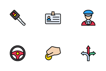Taxi Icon Pack