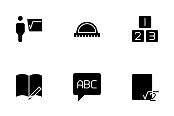 Teaching And Education Icon Pack