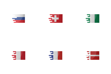Teams Qualified For The World Cup 2018 Icon Pack