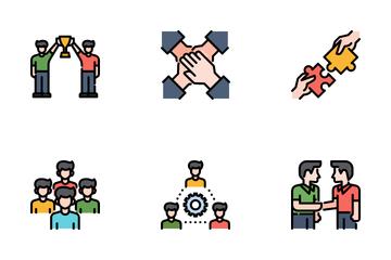 Teamwork Icon Pack