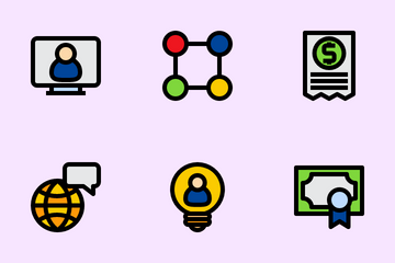 Teamwork And Stakeholder Icon Pack