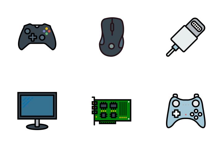 Tech 1 - Retro Icon Pack