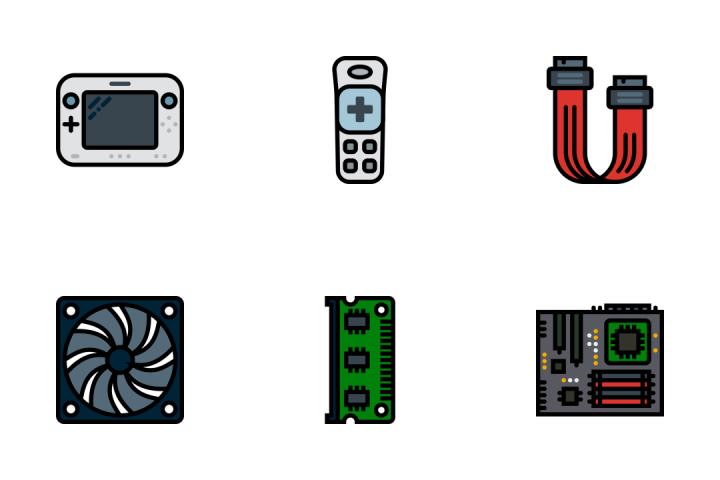 Tech 2 - Retro Icon Pack