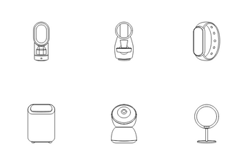 Tech And Electronic Technology Icon Pack