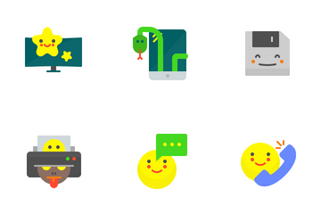 Tech And Multimedia Icon Pack