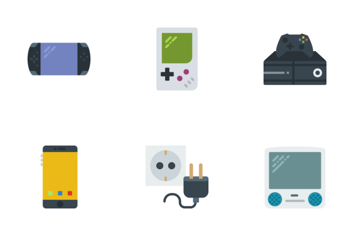 Tech - Flat Icon Pack