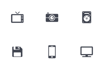 Technology And Communication Icon Pack