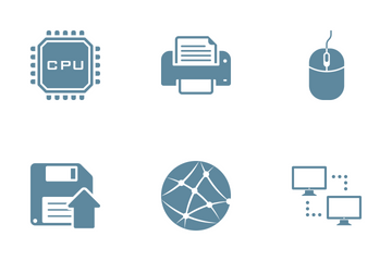Technology And Hardware Icon Pack