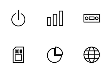 Technology Device Icon Pack