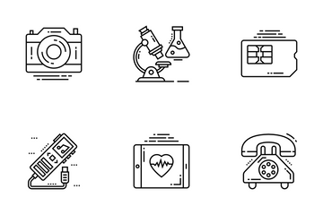 Technology Devices Icon Pack