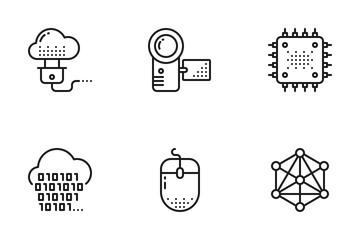 Technology & Electronics Icon Pack