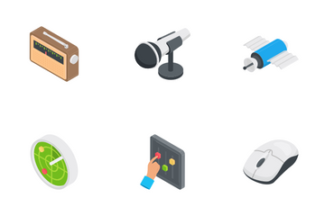 Technology - Isometric Icon Pack