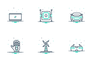 Technology Of Future 03 Icon Pack