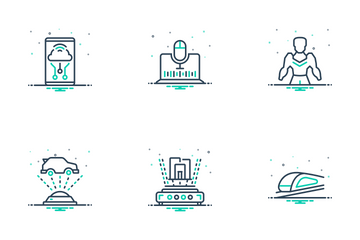 Technology Of Future Icon Pack