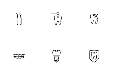 Teeth And Dentist Icon Pack