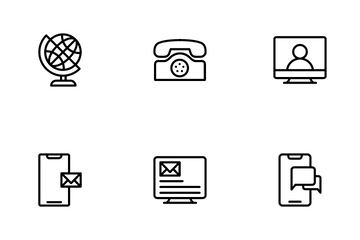 Telecommunication Icon Pack