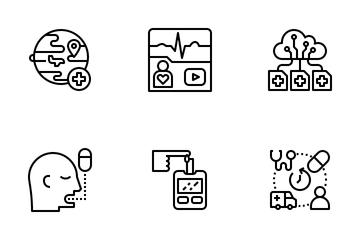 Telehealth Icon Pack