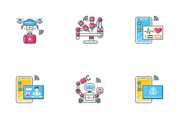 Telemedicine Icon Pack