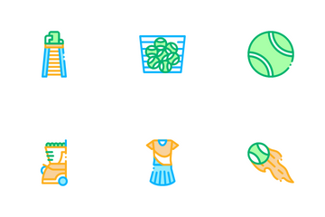 Tennis Game Icon Pack