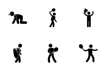 Tennis Player Icon Pack