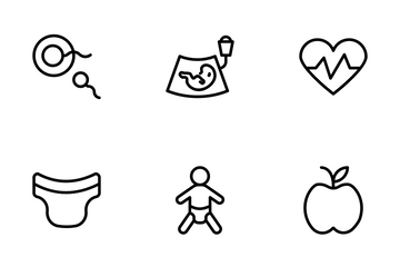 Test Tube Baby Icon Pack