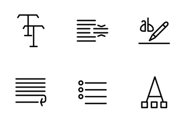 Text Icon Pack