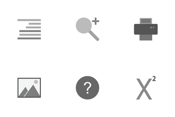 Text Editing Icon Pack