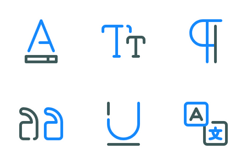 Text Editor Icon Pack