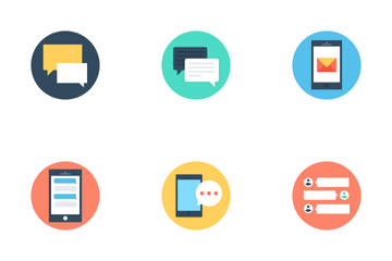 Text Messaging  Icon Pack