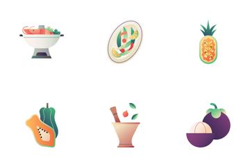 Thai Food Icon Pack