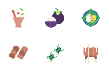 Thai Food Icon Pack